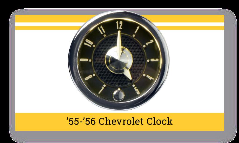 """'55-'56 Chevrolet """"SuperStock"""" Clock"""