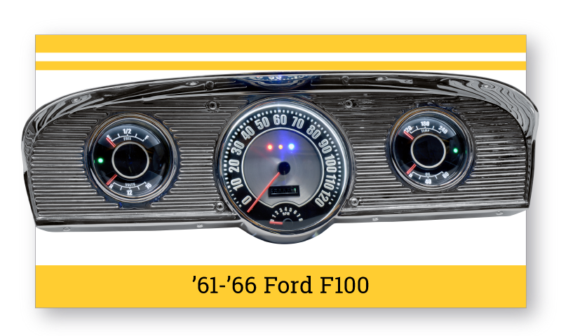 '61-'66 Ford F100 SuperStock Gauges