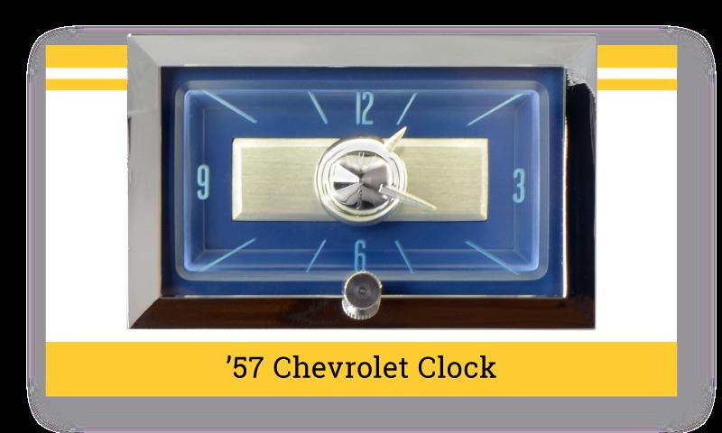 """'57 Chevrolet """"SuperStock"""" Clock"""